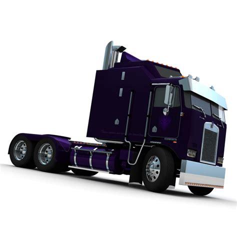 kenworth cabover models cabover truck decepticon 3d model