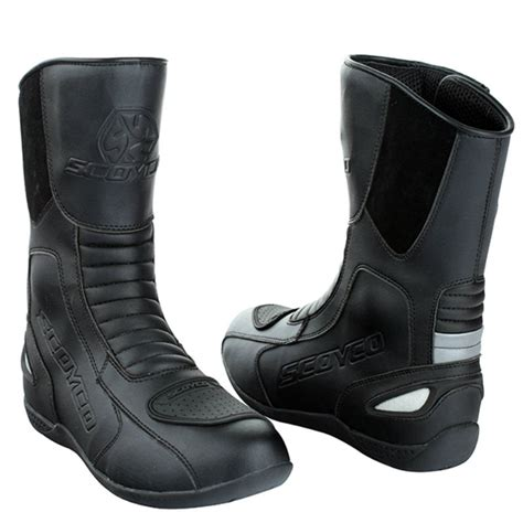moto racing boots protective motorcycle scoyco mbt008 moto racing boots
