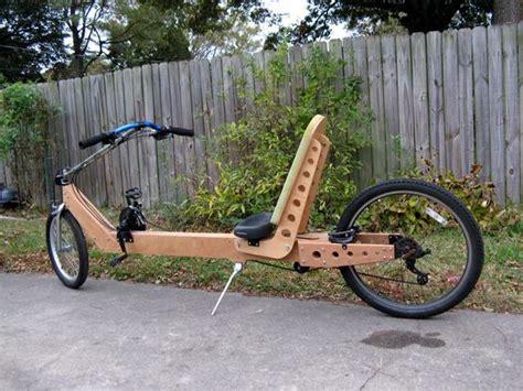 plywood frame recumbent bicycle pinterest plywood