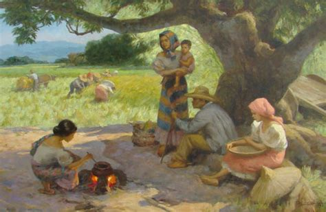 biography of filipino artist fernando amorsolo biography and paintings