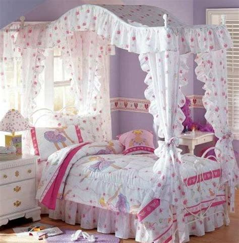 little girl canopy bed curtains 15 beautiful girls bedroom decorating ideas and room colors