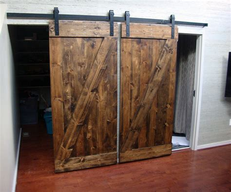 Door Z by Standard Z Brace Plank Barn Door