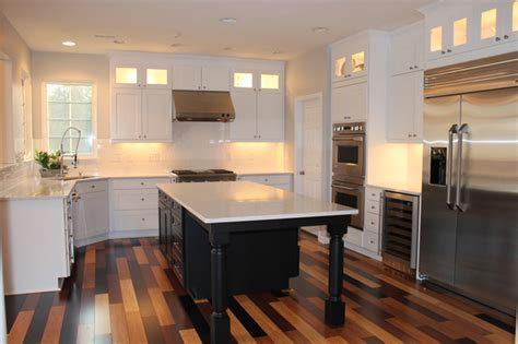 bamboo flooring in kitchen 4 best kid friendly kitchen flooring options