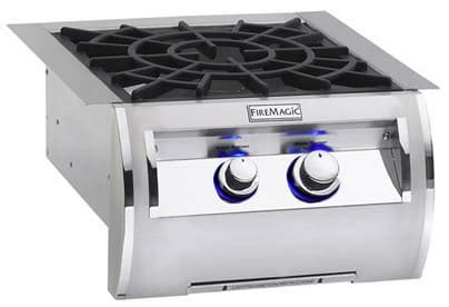 fire magic 194b2n0 19 inch built in side burner with 3,000