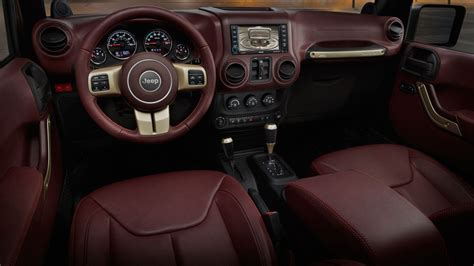 luxury jeep interior luxurious jeep wrangler jk sundancer is the anti jeep