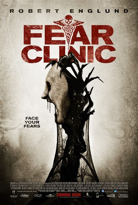 fear clinic screamfest l a 2014 new fear clinic one sheet faces off