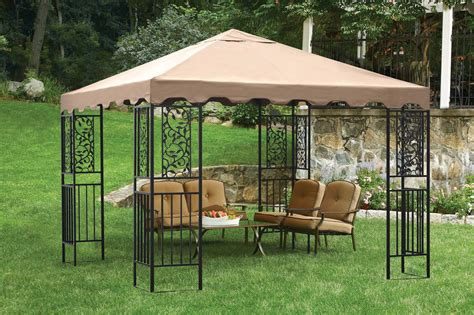 il gazebo backyard canopy gazebo versatile and highly portable