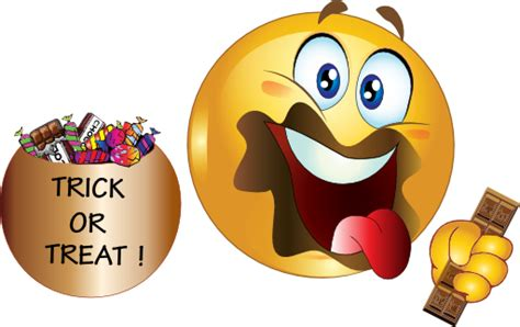 House Cleaning candy smiley face clipart