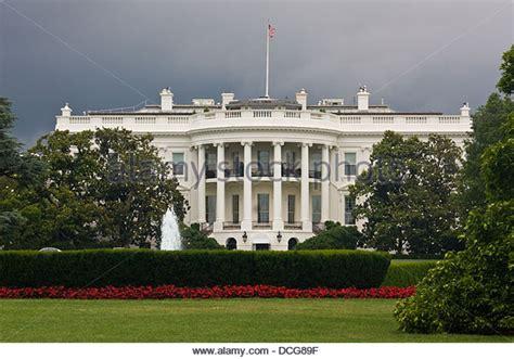 United States White House White House Washington Dc Exterior Stock Photos White