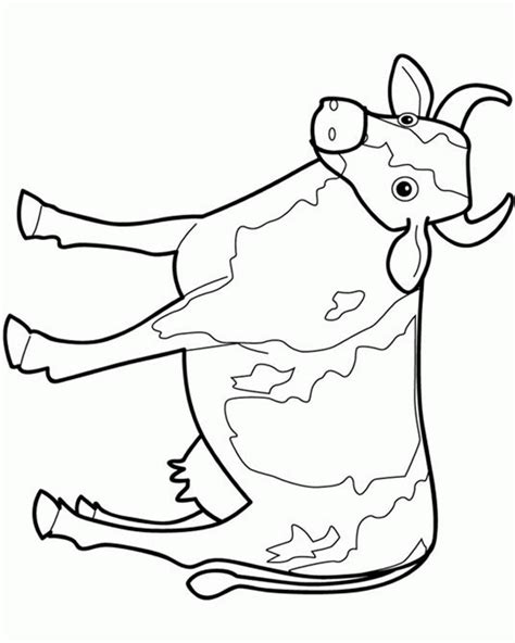 Cow Drawing Outline by 392 Views