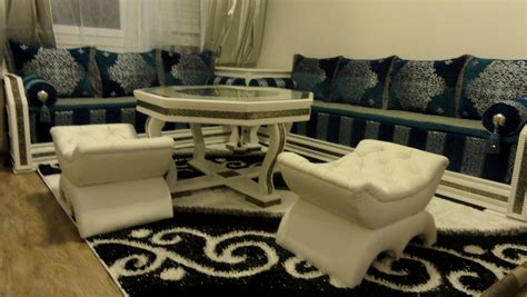 salon canapé marocain idee deco salon marocain moderne