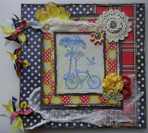 Handmade Scrapbook Album - handmade photo album 2 weddings