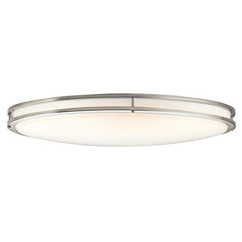 Oblong Ceiling Light by Kichler Lighting 10879ni Verve 2 Light Fluorescent Oval
