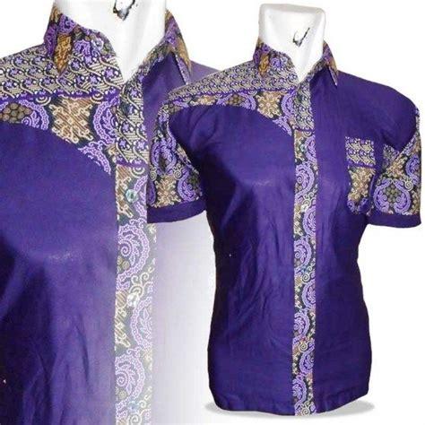 Op1286 Baju Kemeja Polos Biru Kombinasi Batik Cowok Kode Bimb1763 4 ッ 25 model baju batik pria kombinasi kain polos update terbaru