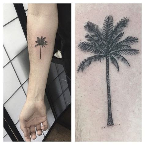 finger tattoo palm tree palm tree tattoo google s 248 gning tattoo pinterest