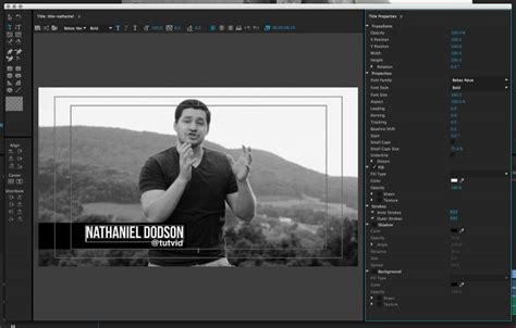 adobe premiere pro lower thirds create animate lower third graphic titles in premiere pro cc