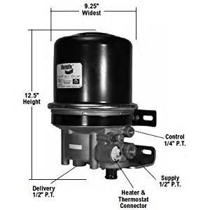 Motorhome Brake System Air Dryer Bendix Ad Ip Air Dryer 109477x Reman Bendix Ad Ip Air