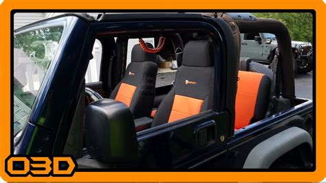 2004 jeep wrangler tj seat covers project 2004 jeep tj bartact front and rear seat cover