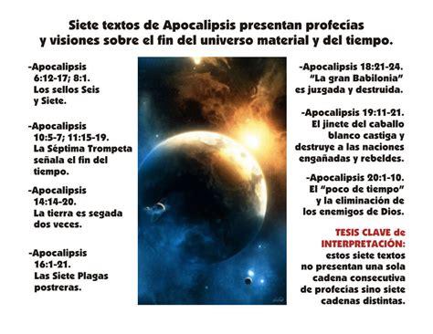 preguntas biblicas en linea identificaci 243 n de siete textos de apocalipsis que