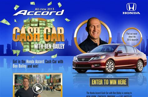 Honda Sweepstakes by Honda Car Contest And Sweepstakes