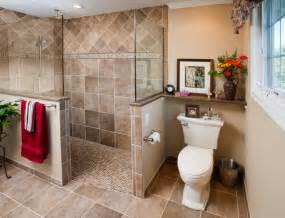 Walk In Shower Bathroom Designs Walk In Shower Traditional Bathroom Philadelphia By Harth Builders