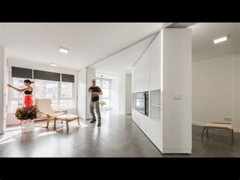 rotating walls create bedrooms  mje house  pkmn