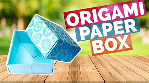 5 minute origami origami paper box easy 5 minute crafts easy diy ideas