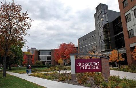 Augsburg College Mba Tuition by Augsburg College Best Value Small Colleges For An