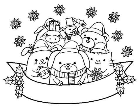 imagenes animadas de navidad para colorear navidad archivos imagenes de animales para colorear