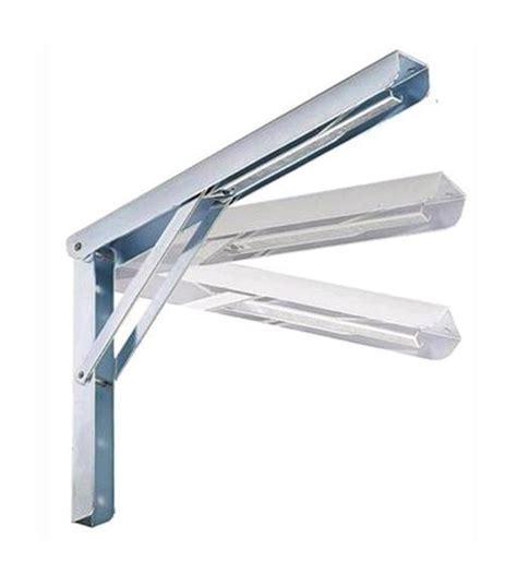 mensola ribaltabile mensola ribaltabile maurer 40 cm con 3 posizioni in