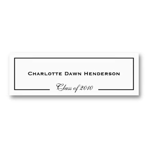 Card Insert Template Free For Graduation by Graduation Announcements Name Cards And Business Cards On