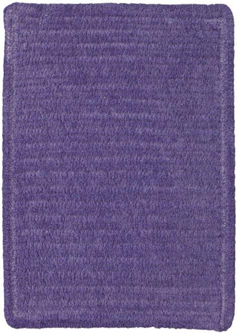 custom braided rugs custom creations braided rug in royal purple by capel rugs
