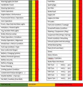 Vehicle Service Sheet Template by Pin Car Service Checklist Menu On