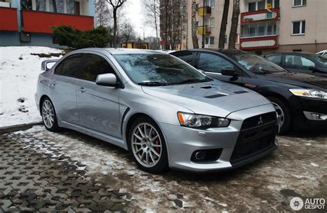 mitsubishi evolution 2017 mitsubishi lancer evolution x 21 stycze 2017 autogespot