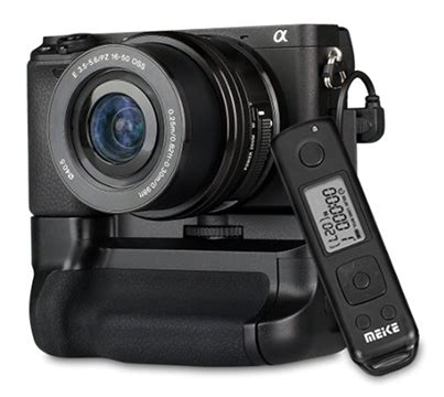 meike's new a6300 battery grip and remote control is now