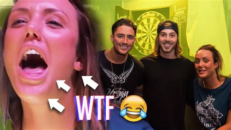 tattoo of us youtube charlotte crosby screaming at bear in public just