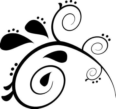 paisley pattern png black paisley pattern clip art at clker com vector clip