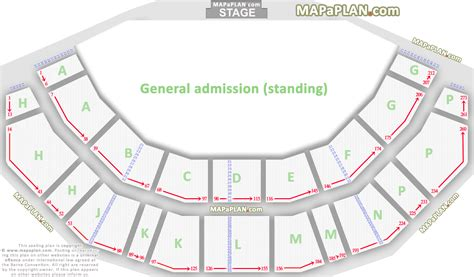 o2 floor seating plan 3arena dublin o2 arena general admission ground floor