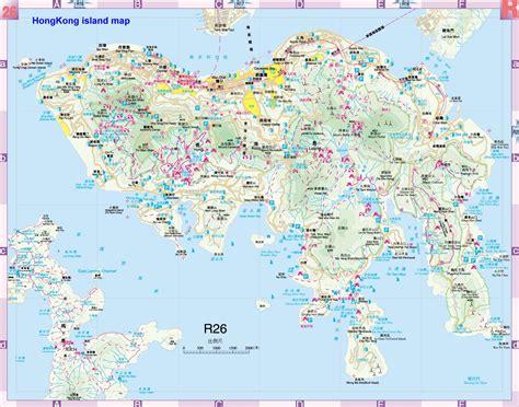 hong kong island map hong kong mappery