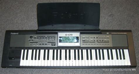 Roland Keyboard Arranger E 09i roland e 09 interactive arranger electronic keyboard reverb