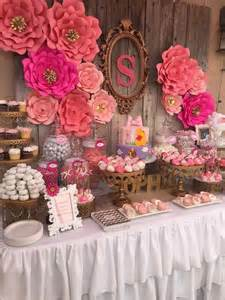 baby shower table decorations ideas 31 baby shower dessert table d 233 cor ideas digsdigs