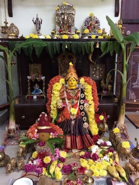 Decoration Of Lakshmi Pooja by Varalakshmi Puja Puja Decorations