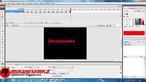 cara membuat powerpoint menggunakan flash cara membuat animasi frame by frame menggunakan flash