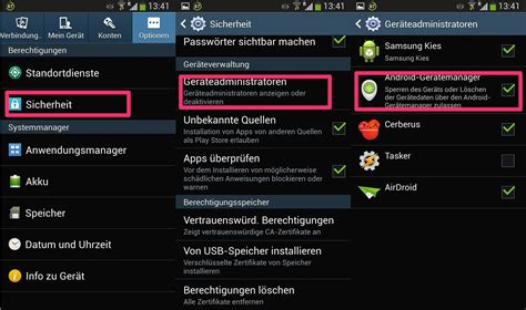 manager android so funktioniert der android device manager zum orten oder