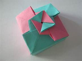 How To Make Paper Gift Boxes - origami gift box tutorial learn 2 origami origami