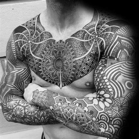 mens mandala tattoo 70 mandala designs for symbolic ink ideas