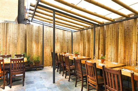 WXY Studio adds a touch of bamboo charm to Brooklyn's Purple Yam restaurant Inhabitat New York