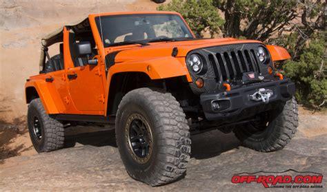 jeep wrangler sunset orange 2014 jeep wrangler mojo concept off road com