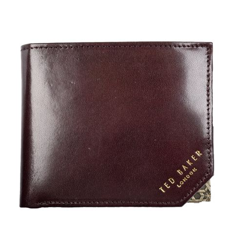 Ted Baker Browen ted baker ted baker dornas brown leather wallet ted
