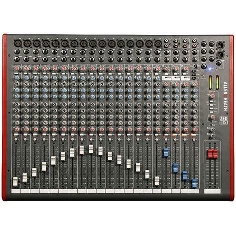 Mixer Audio Allen Allen Heath Allen Heath Zed24 Mixer With Cakewalk Sonar X1 Le Audio Production Software